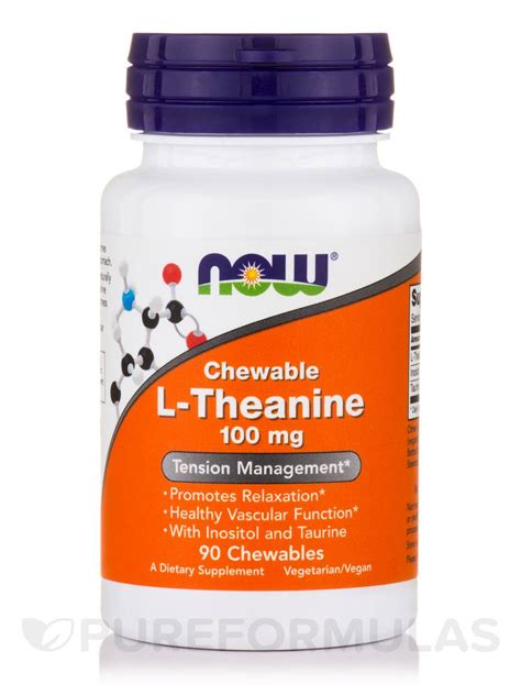 l theanine for dogs l theanine 100 mg 90 chewables