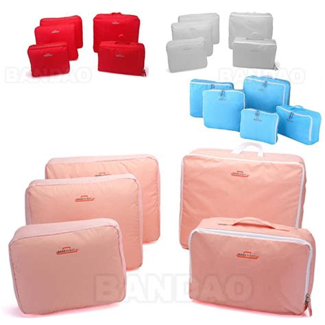 New Korean 6 In 1 Travelling Bags In Bag 1 Set Isi 6 Pcs Organizer bags in bag bags more