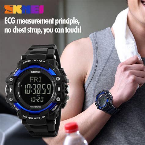 Skmei Pedometer skmei pedometer rate monitor waterproof sports