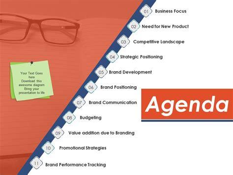 agenda   file template  powerpoint