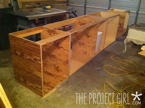 Make Kitchen Cabinets How To Build Kitchen Cabinets Getting Started Jenallyson The Project Easy Craft