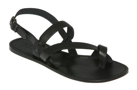 black sandal womens office liase sandal black leather sandals ebay