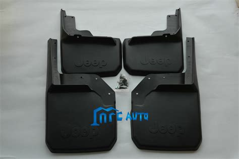 Jeep Jk Mud Flaps Mud Flaps Splash Guards Front Rear Mudguards For Jeep