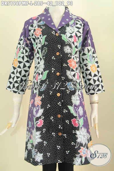 Istimewa Pakaian Wanita Dress Mimi dress batik istimewa model kerah langsung pakaian batik baut wanita karir yang ingin