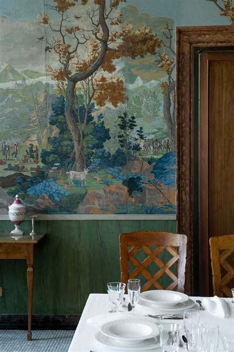 antique wallpaper panels scenic wallpaper antique