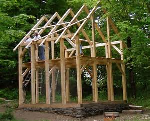 A Frame Houses Pictures timber frame on dry stone foundation tiny houses