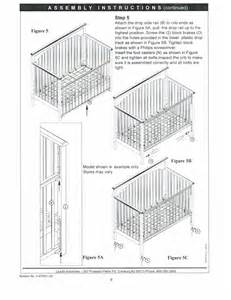 Graco Crib Manual by Graco Crib Assembly Baby Crib Design