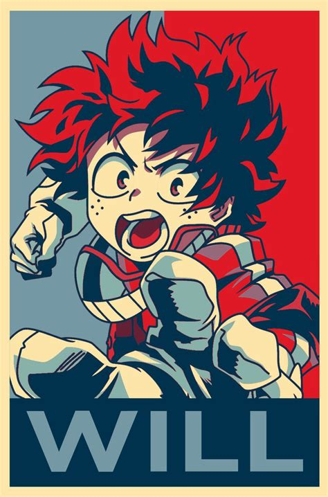 Poster Anime Boku No Academia Midoriya Izuku 2751 best my academia images on my