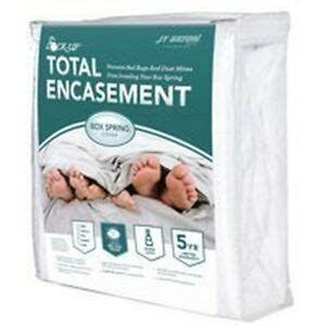 lock  twbox total encasement bed bug protection twin box spring cover  ebay