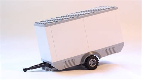 how to build a lego boat and trailer how to build custom lego moc trailer youtube