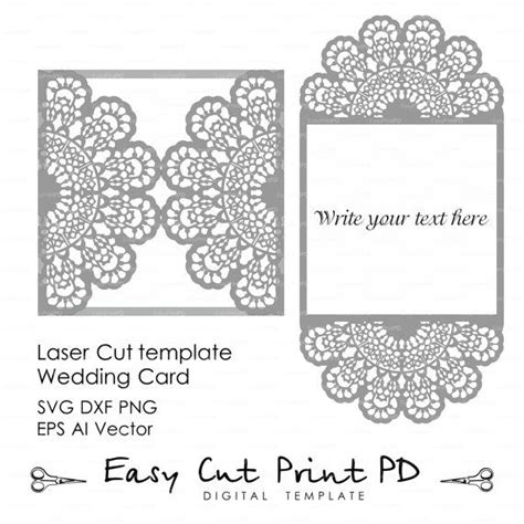 Silhouette Cameo Card Templates by 246 Best Wedding Invitation Templates Cutting Files Svg