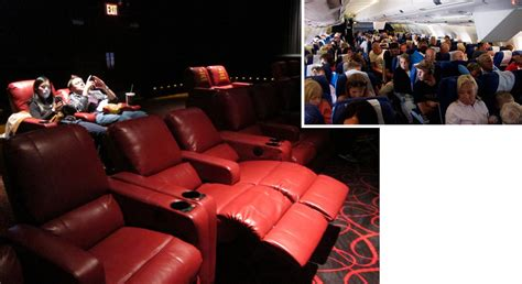 movie theatre with recliner seats movie theater seats moving in the opposite design