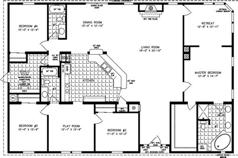 Floor Plans Under 2000 Sq Ft by 2000 Sq Ft And Up Manufactured Home Floor Plans