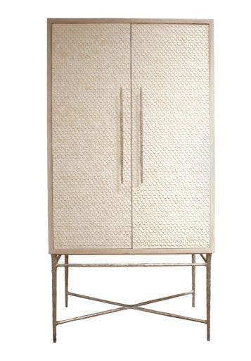 Cabinet Bourgois by Heron Lorica Armoire Bone Inlay Bourgeoisie Furniture