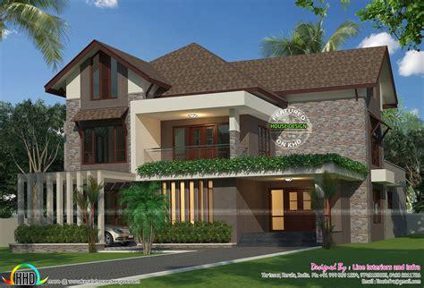 eco friendly single floor kerala villa house design plans eco friendly 4 bedroom home kerala home design and floor