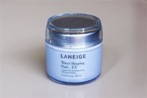 Laneige Sleeping Pack Di Counter best korean products sg