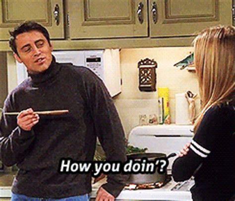 Joey Meme How You Doin - my edits film friends tv television phoebe buffay joey