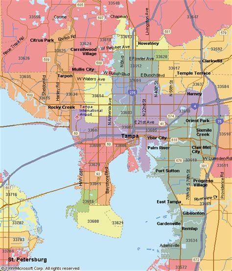 zip code map ta hillsborough county appraisal development international commercial