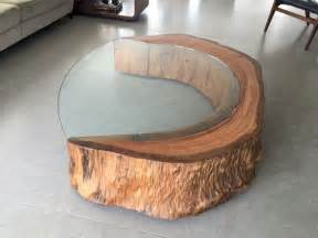 Shabby Chic Coffee Table by Arredi Creativi Con I Tronchi 20 Idee Stupende