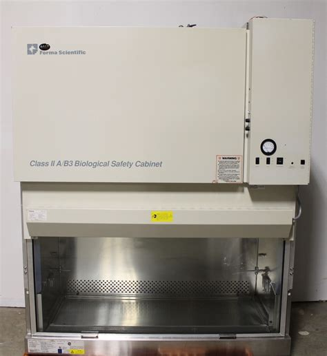 class ii biological safety refurbished forma scientific class ii type a b3 biological