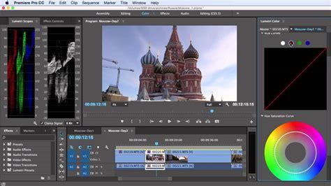 tutorial adobe premiere pro cc 2015 tutorial correcting color in adobe premiere pro cc 2015