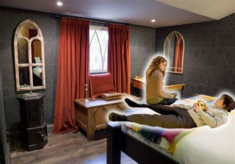 themed hotel uk there s a harry potter themed hotel room in london and it
