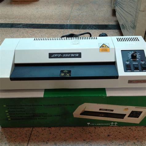 Mesin Laminating Biasa jual jual mesin laminating lamipacker lpf 330wh kualitas