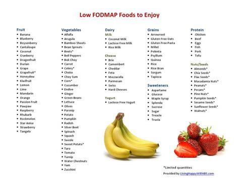 Fodmap Detox Symptoms by Best 25 Low Fodmap Foods Ideas On Fodmap