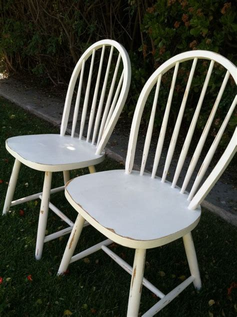 White Painted Dining Chairs 17 Best Images About Painted Vintage Dining Chairs On