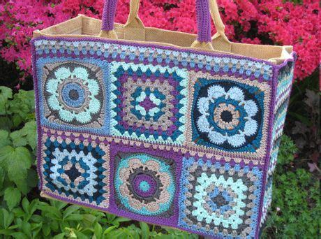 Tas Handbags Jelly Flower Ks nieuws workshop haak en recycle een tas wollstreet