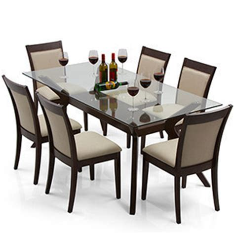glass dinner table set dining table sets buy dining tables sets in india