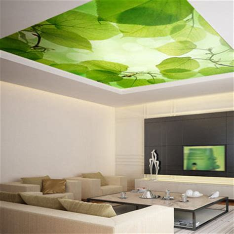 ceiling sticker mural leaves trees forest airly air