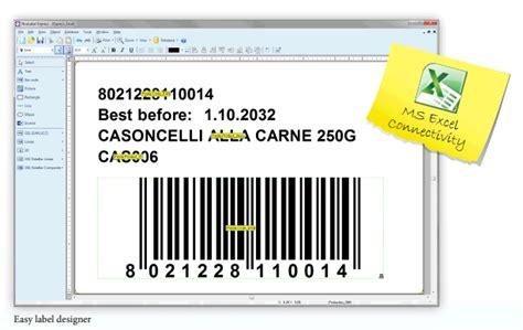 design nice label nicelabel barcode label designer express software label
