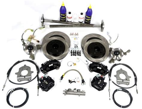 sve mustang 5 lug conversion kit 28 spline black 93 93