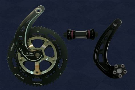Crank Your Way To Power With A Crank by Dpardo Power Curve Crankset Put A Crank On Your Crank