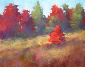 painting my world autumn color pastel landscape painting