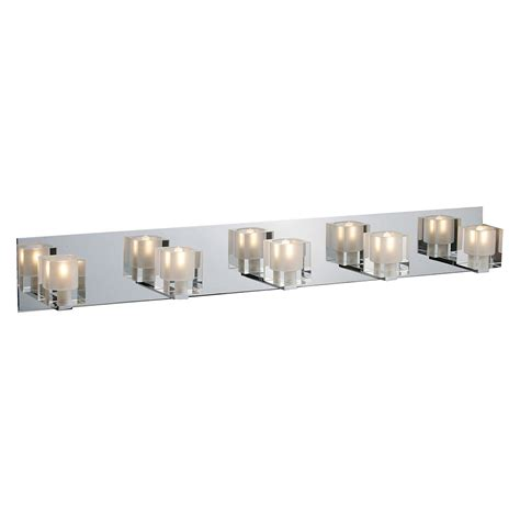 vanity bathroom lights buy the blocs 5 light bath vanity by et2