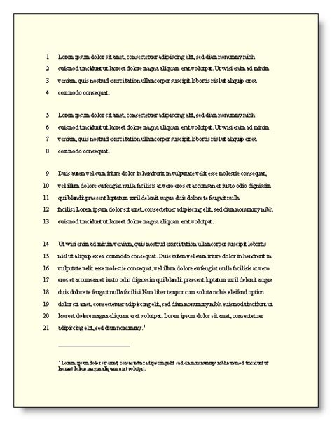 format for writing a footnote essay with footnotes