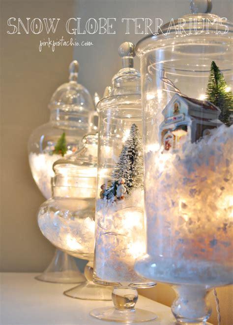 diy decorations snow globe 33 awesome diy string light ideas