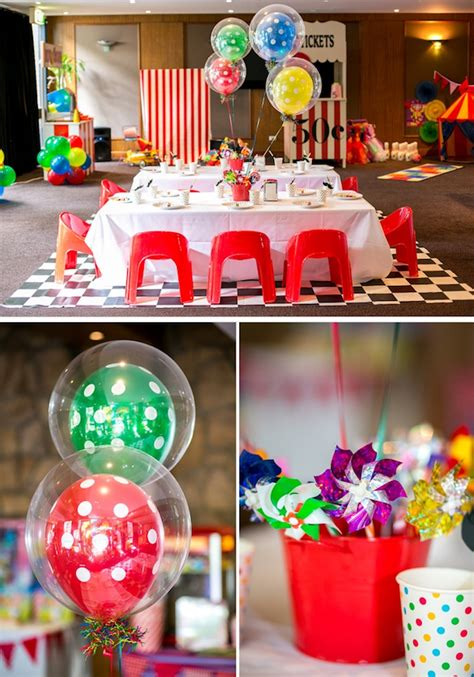 carnival theme party 50th birthday party ideas kara s party ideas circus carnival boy girl 5th birthday