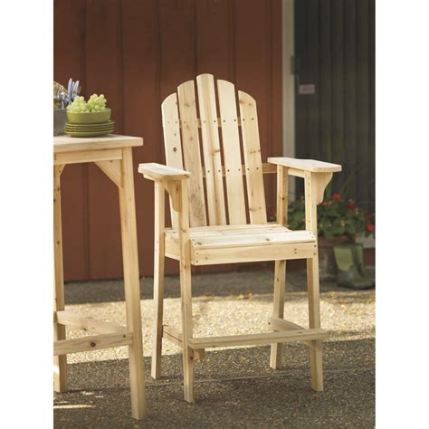 stonegate designs tall wooden adirondack chair inl