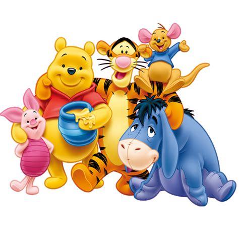 imagenes png winnie pooh winnie pooh y sus amigos festejando el d clipart pooh y