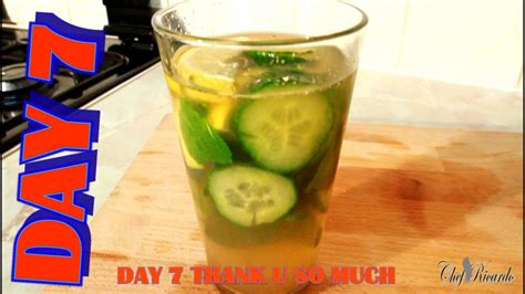 7 Day Green Tea Detox by Detox In Your Mint Green Tea Lemon Honey