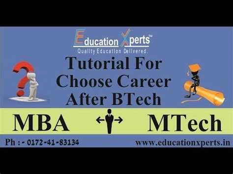 Teaching After Mba by Mba Vs Mtech Whats Is Better Option Whats Next After