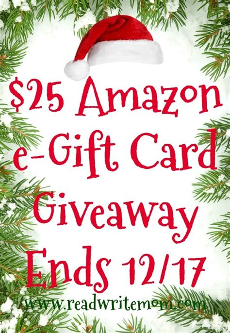 Amazon Gift Card Local Store - amazon e gift card giveaway ends 12 17