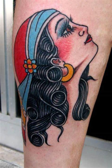 zingara tattoo new school gitana tattoos