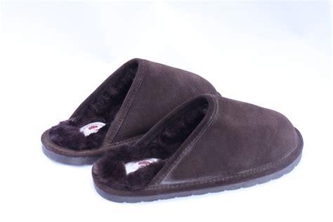 backless slippers men s sheepskin backless slipper radford leather