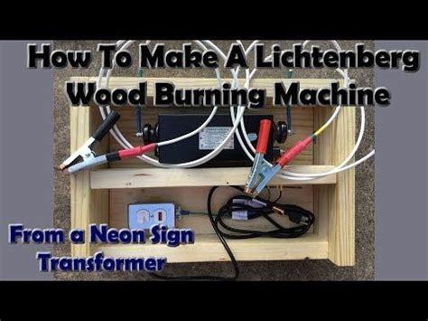 lichtenberg woodburner   neon sign