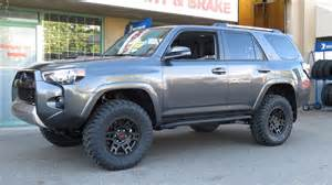 Toyota 4 Runner Lifted 2014 Toyota 4 Runner With Icon Lift