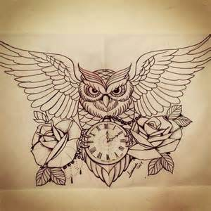 awesome owl drawing we heart it owl tattoo and drawing